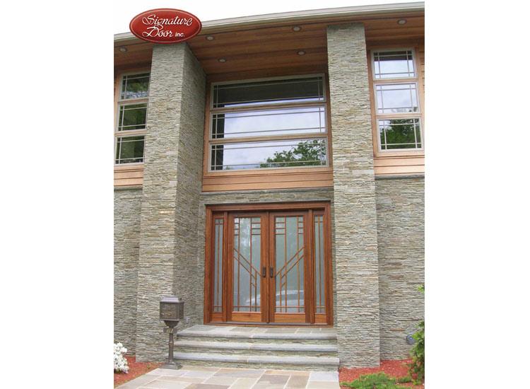 Signature Door Rustic Modern Entry Door System  sc 1 st  Window Classics & Gallery   Window Classics