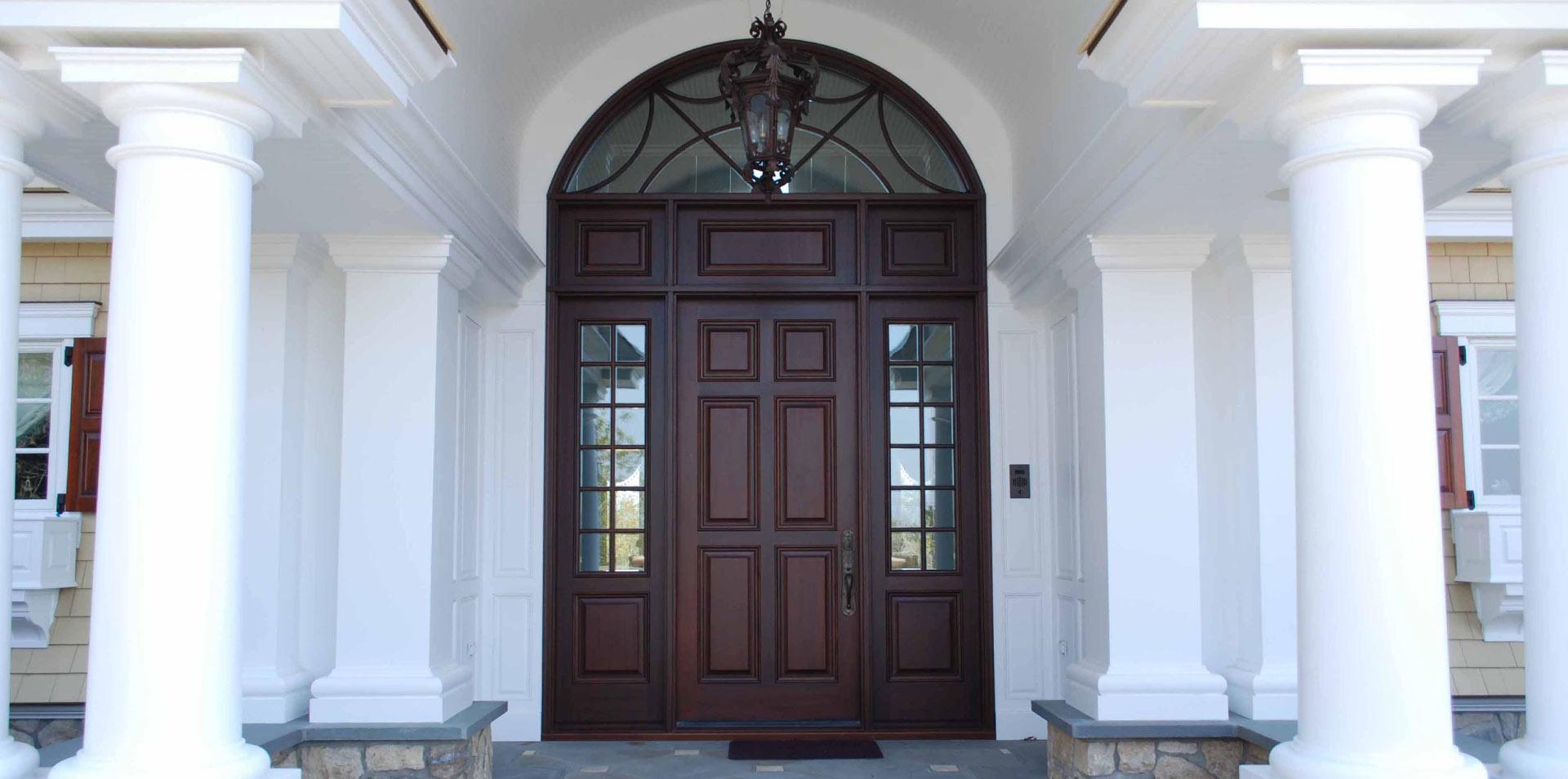 Wood Entry Doors Materials Window Classics